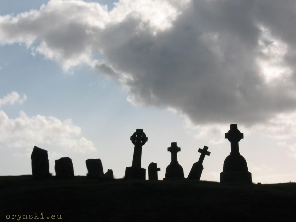 Stary cmentarz na South Uist