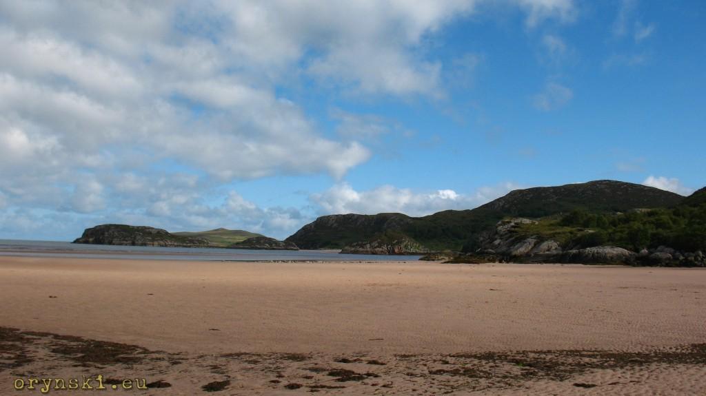 Dziewicze plaże koło Mungasdale