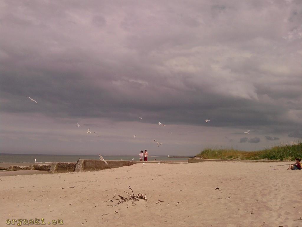 Szerokie plaże Nairn