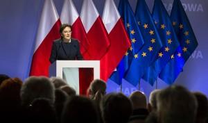 Prime Minister Ewa Kopacz (CC)