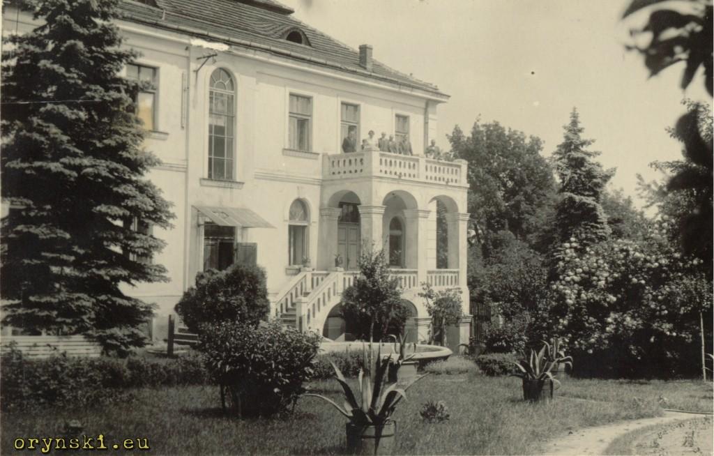 Posiadłość w Charsznicy należąca kiedyś do mojej rodziny (archiwum rodzinne)