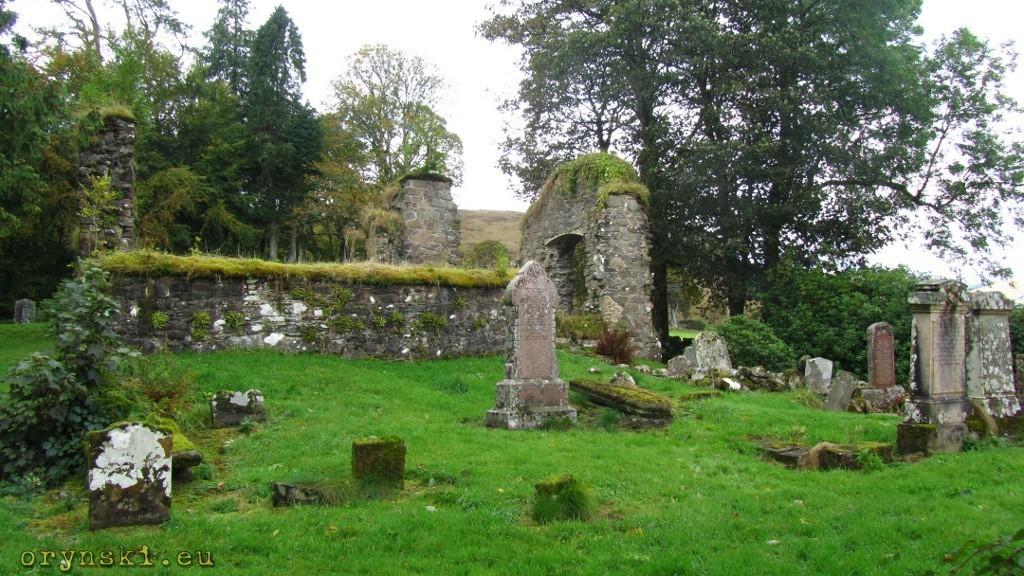 Ruiny Saddel Abbey
