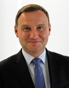 Andrzej Duda, president-elect of Poland