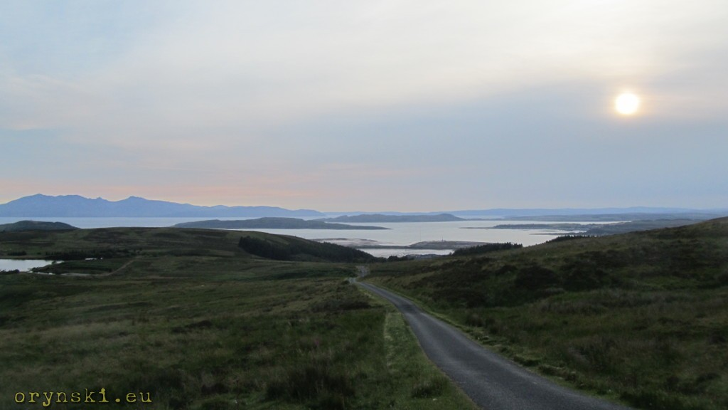Widok z Fairlie Moor Road