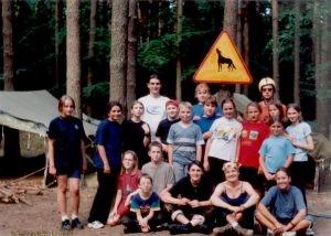 23 DH Wilki, Obóz w Krzeczkowie, 2001 rok