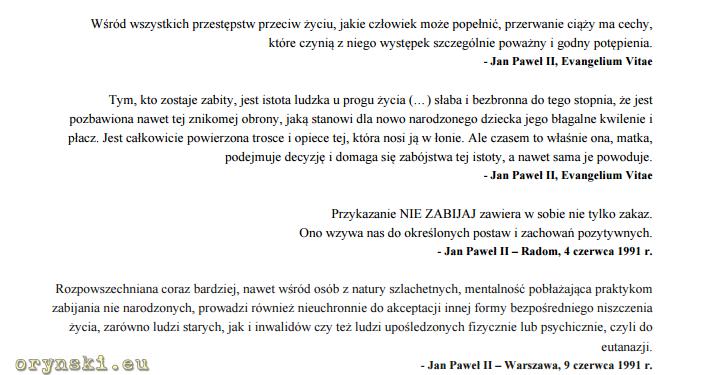 Screen z uzasadnienia pod projektem ustawy Ordo Iuris
